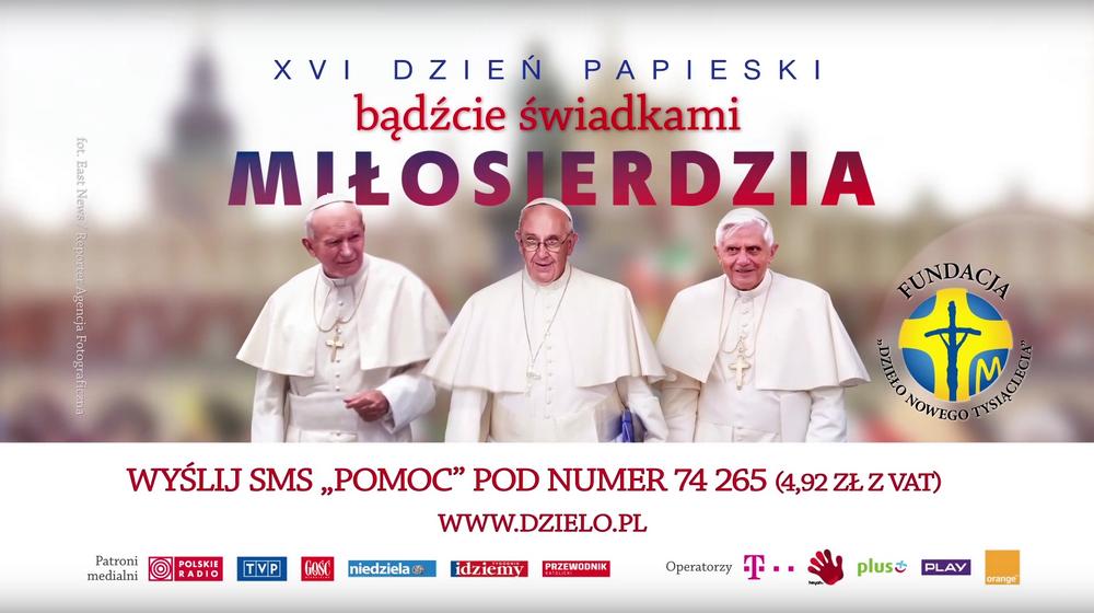 Znalezione obrazy dla zapytania dzień papieski 2016