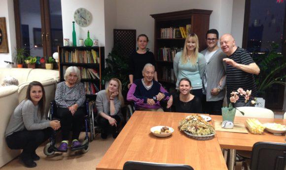 Szczecin, wolontariat, Dom Seniora