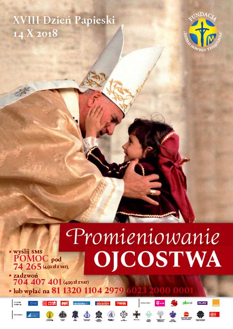 Znalezione obrazy dla zapytania dzień papieski 2018 plakat